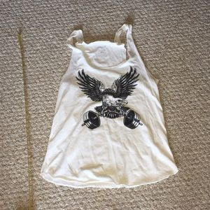 Reebok CrossFit tank top Eagle shirt